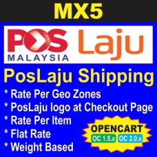 MX5 - PosLaju Shipping