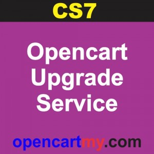 CS7 Opencart Upgrade Service